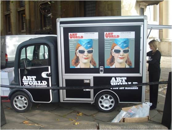 MG Coffee Van for Artword magazine@Frieze Art Fair