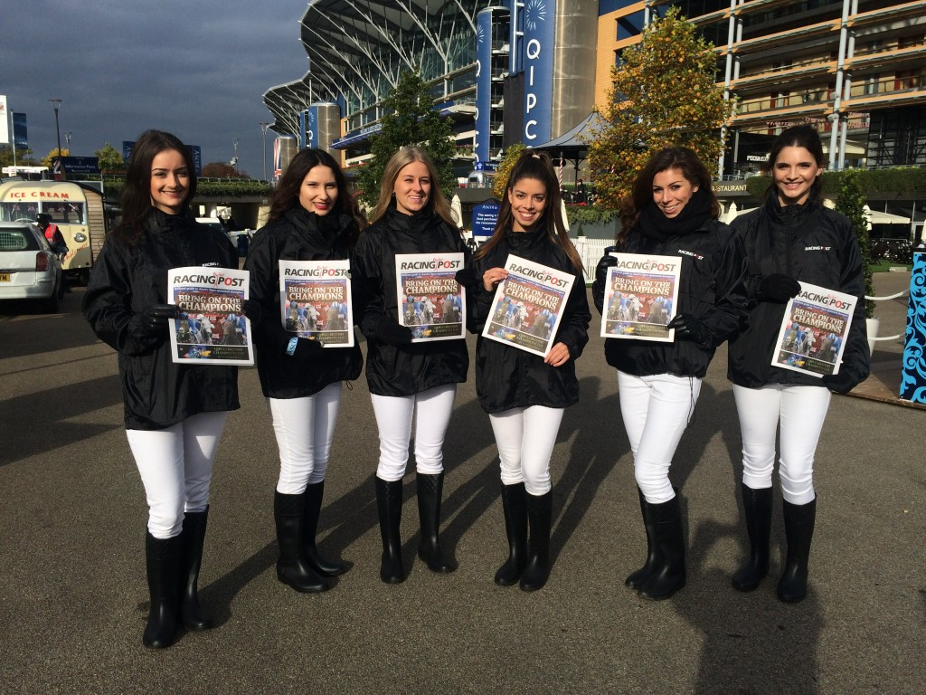 Racing Post team