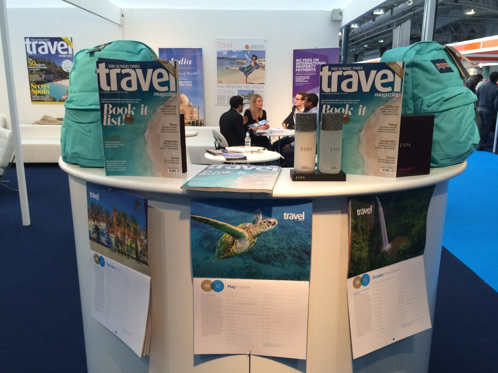 The Times Destinations Travel Show Olympia