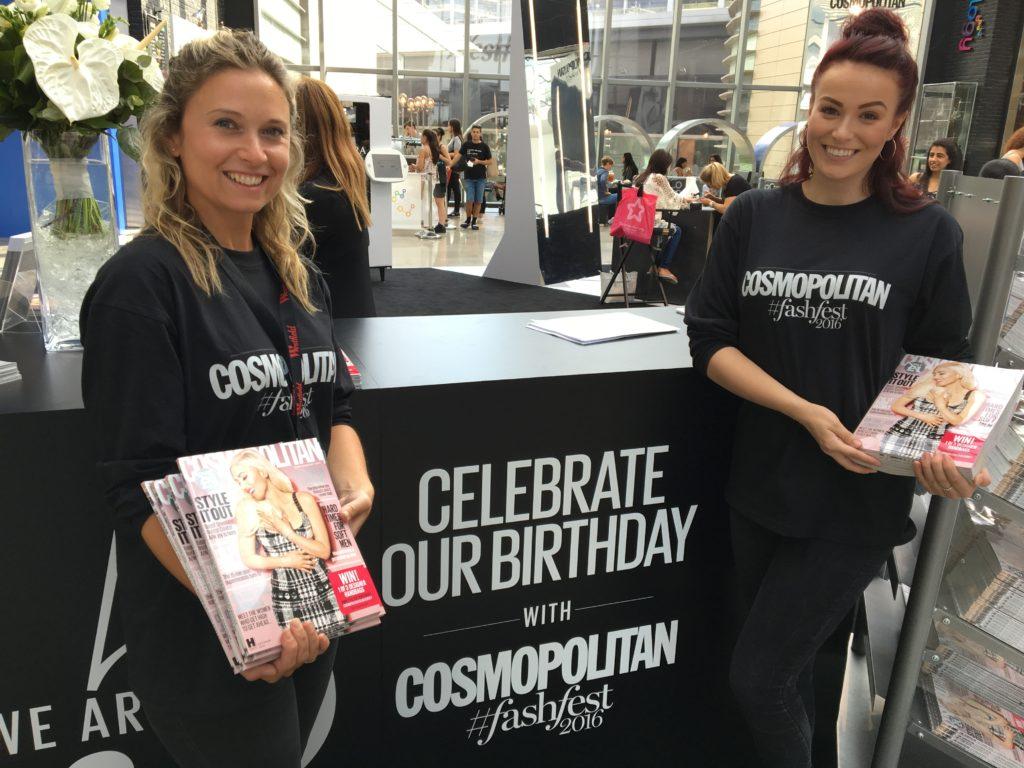 Cosmopolitan @ FashFest Westfield London