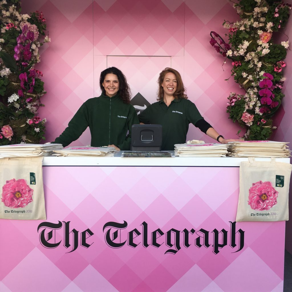 The Telegraph @ Chelsea Flower Show