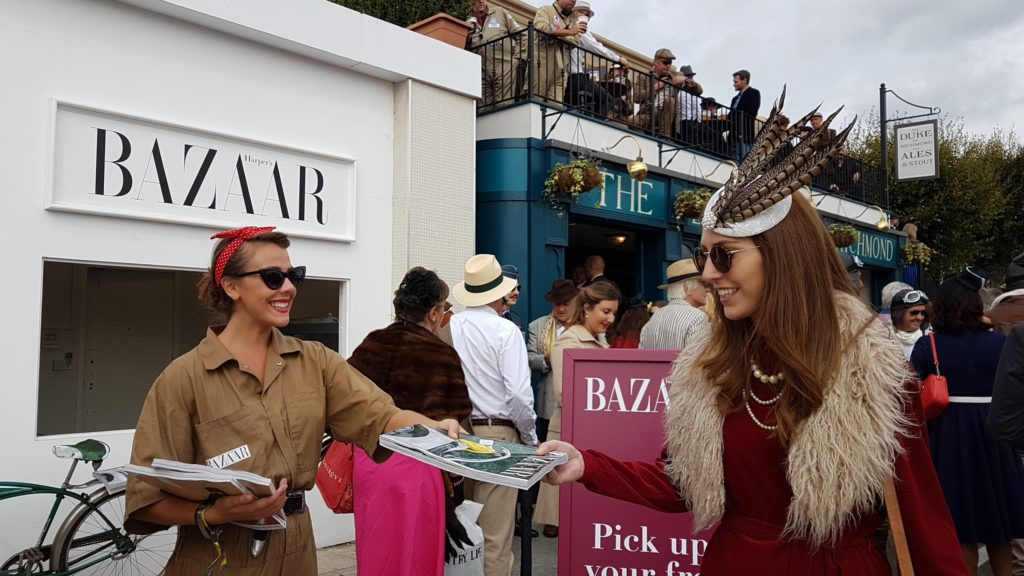 Harpers Bazaar @Goodwood Revival