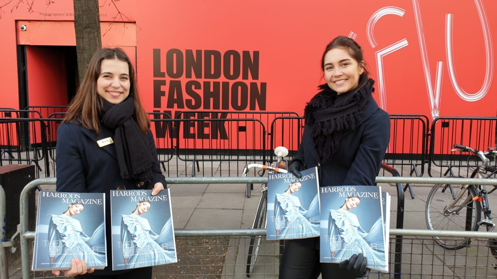 Harrods @ LFW London Fashion Week 2019