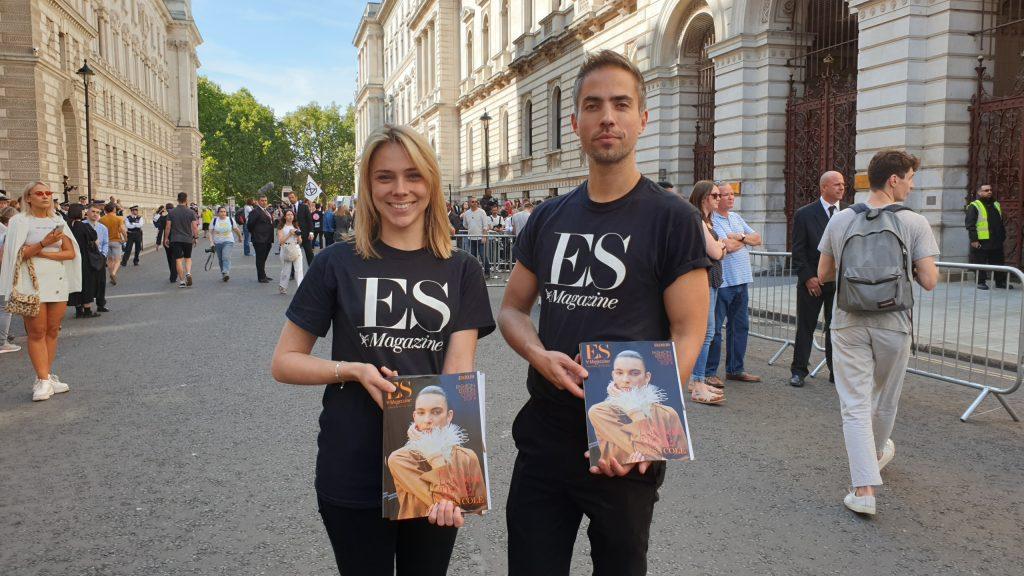 ES Magazine - Victoria Beckham Show - London Fashion Week