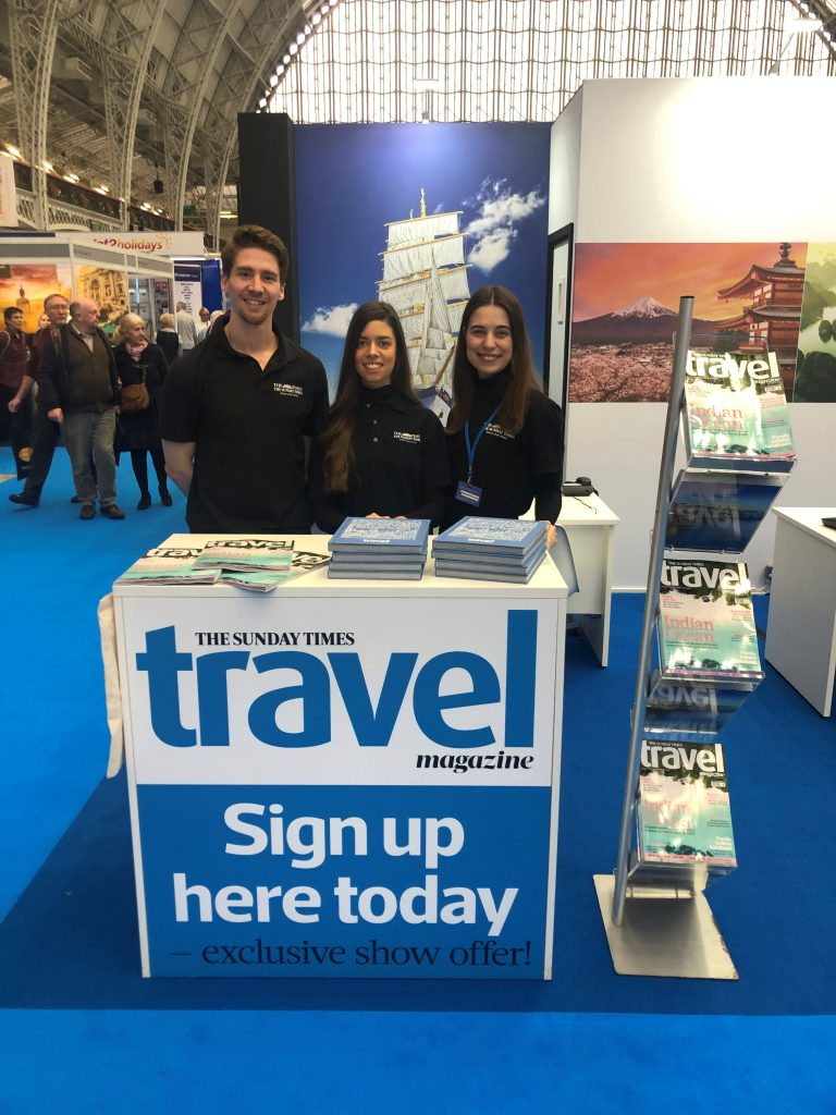 Digital Subscriptions Destinations Travel Show Olympia