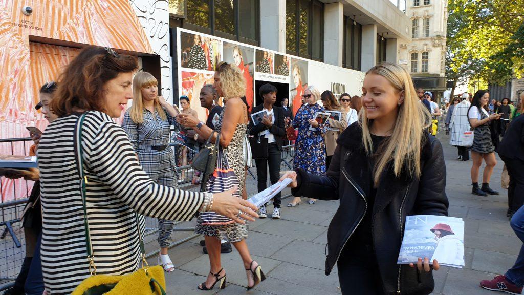 Harvey Nichols magazine London Fashion Week