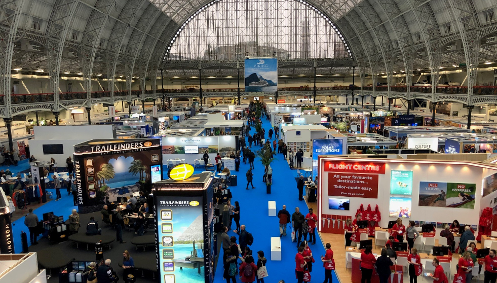 Destinations Travel Show Olympia
