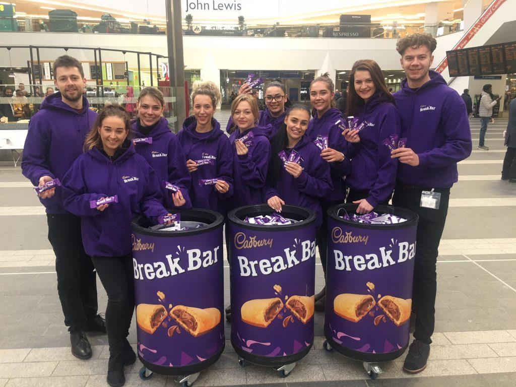 Cadbury's Break Bar Birmingham New Street