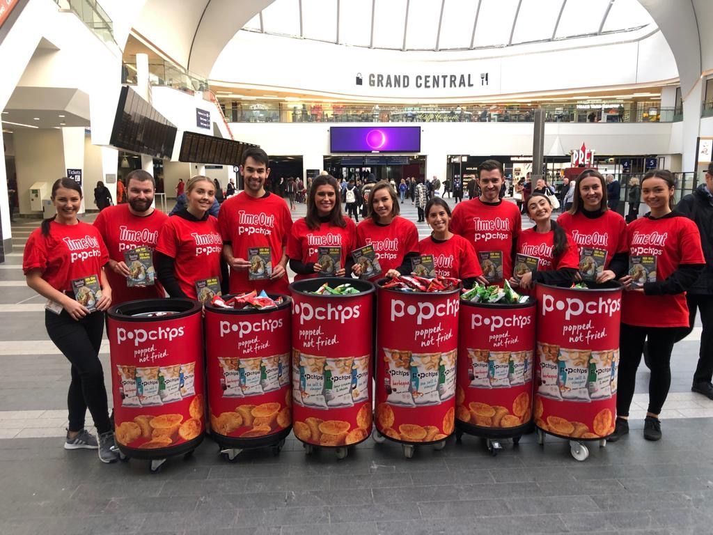 Popchips Birmingham New Street station
