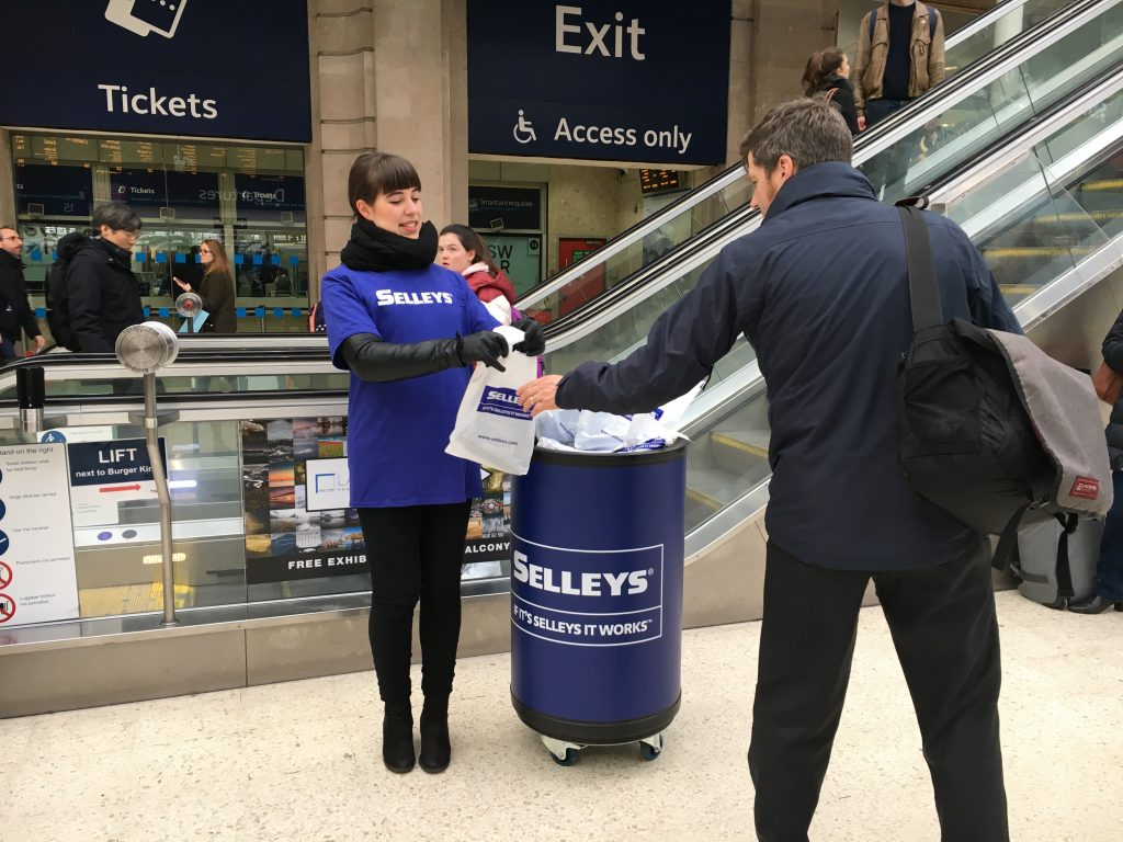 Selleys Waterloo Station London