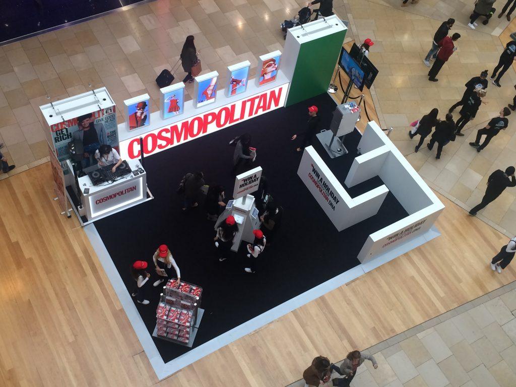 Cosmopolitan Stand Bullring Birmingham