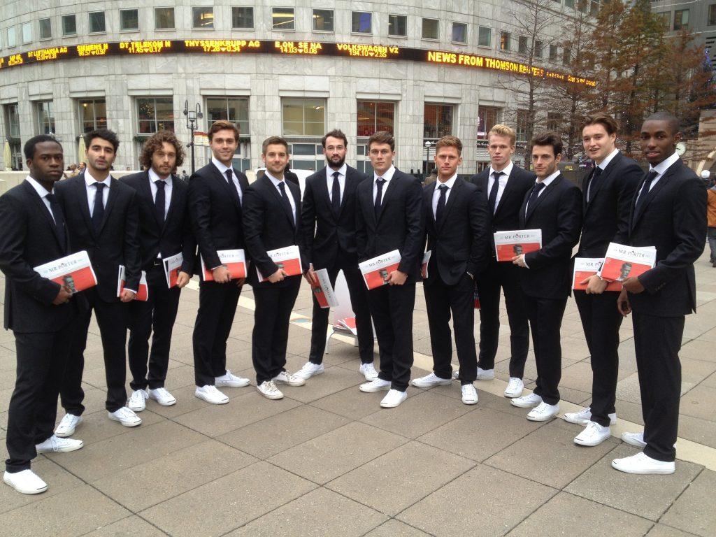 Mr Porter Team Canary Wharf